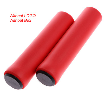 2PCS Silicone Cycling Bicycle Grips Mountain Road Bike MTB Handlebar Cover Grips Bicycle Accessories Anti-slip Bike Grip Cover 12
