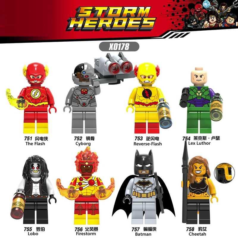 Voor Film 2 Emmet Lucy Rex Melody Kitty Batman Joker Robin Superman Wonder Woman Aquaman Bouwstenen Figures Kinderen Speelgoed geschenken