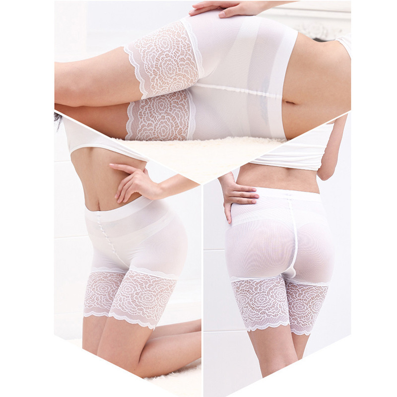 Women Lace Short Pants Ropa Interior Femenina Short Pants Boxer Women Comfortable Panties