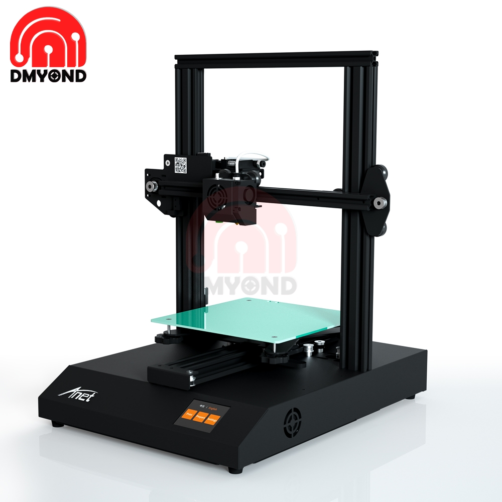 Anet ET4 PRO High Precision 3D Printer DIY KITBlack 2.8 Inch LCD Display Slient Printing With TMC2208 Stepper Driver Mainboard
