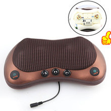 Relaxation Massage Pillow Vibrator Electric Shoulder Back Heating Kneading Infrared therapy shiatsu Neck Massage