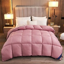 High-end Luxury 100% White Goose/Duck Down Quilt Duvets Winter Thicken Keep Warm Comforters King Queen Full Size