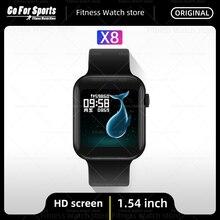 IWO-reloj inteligente Serie 6 X8 para hombre y mujer, pulsera deportiva con control del ritmo cardíaco y llamadas, PK T500 X7 W26 IWO 12 G500, novedad de 2021