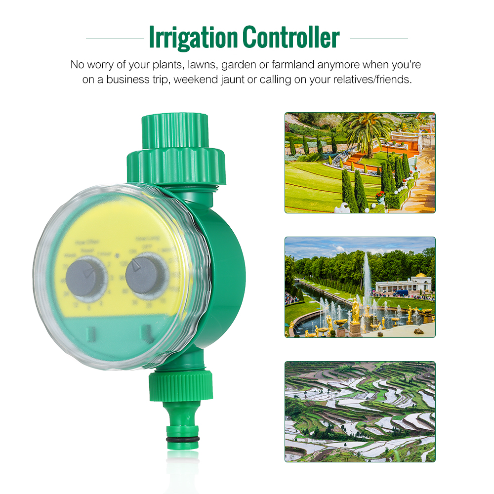 Waterproof Home Automatic Water Timer Garden Irrigation Controller Watering UK