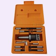 MT3 M12 Arbor F1 -12 50mm boring head  and 9pcs  12mm boring bars, boring head set