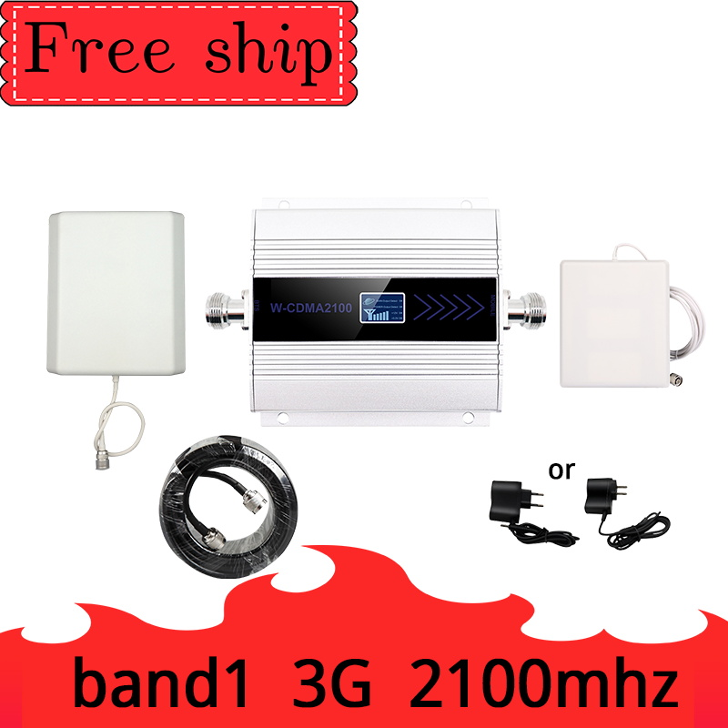 TFX-BOOSTER   3G  2100MHz  WCDMA  Repeater Mobile Signal Booster  LCD  Amplifier Cell Phone Amplifier Ripetitore 9dbi Panel