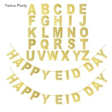 Twins Party Personalized Birthday Banner Personalize Flag Letter A-Z Custom Glitter Gold Candy Bar