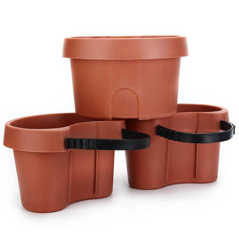 3 Pc/Lot Unique Gutter Downspout Garden Flower Pot Drain Pipe Flower Pots Tubs Drain Pipe Garden Planters|Flower Pots & Planters| |  - title=