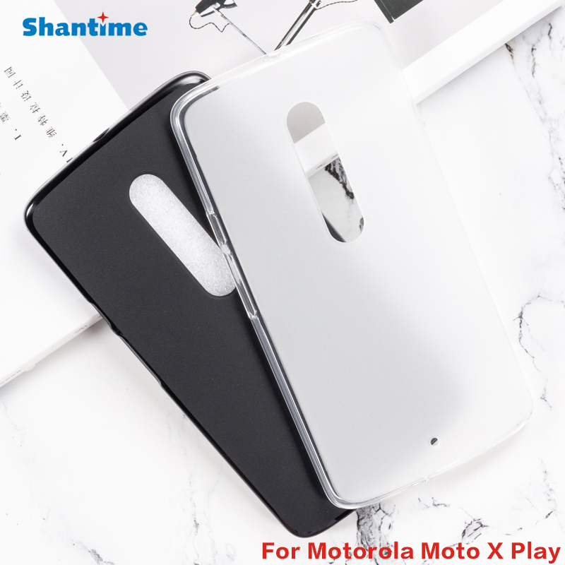 Мягкий силиконовый чехол из ТПУ для Motorola Moto X Play