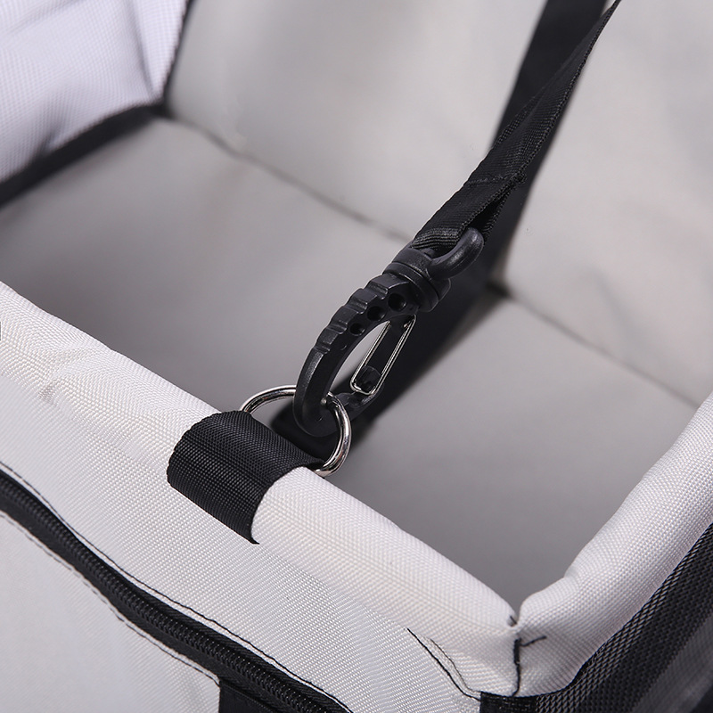 CAWAYI KENNEL Travel Dog Car Seat Cover Folding Hammock Pet Carriers Bag Carrying For Cats Dogs transportin perro autostoel hond 5