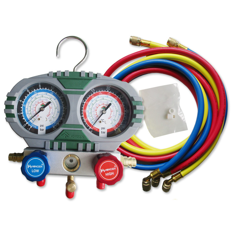 Car Air Conditioning Repair >> Us 45 14 10 Off Car Air Conditioning Repair Tools Air Conditioning Refrigerant Meter Refrigerant And Fluoride Table Hs S60 101 Mahifold Gauge On