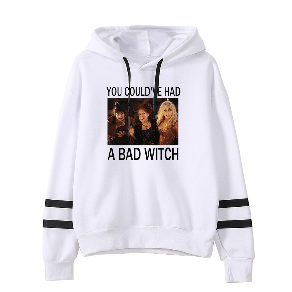 halloween hoodies 2019 fall sweatshirts women horror movie print girls streetwear sweatshirt casual plus size