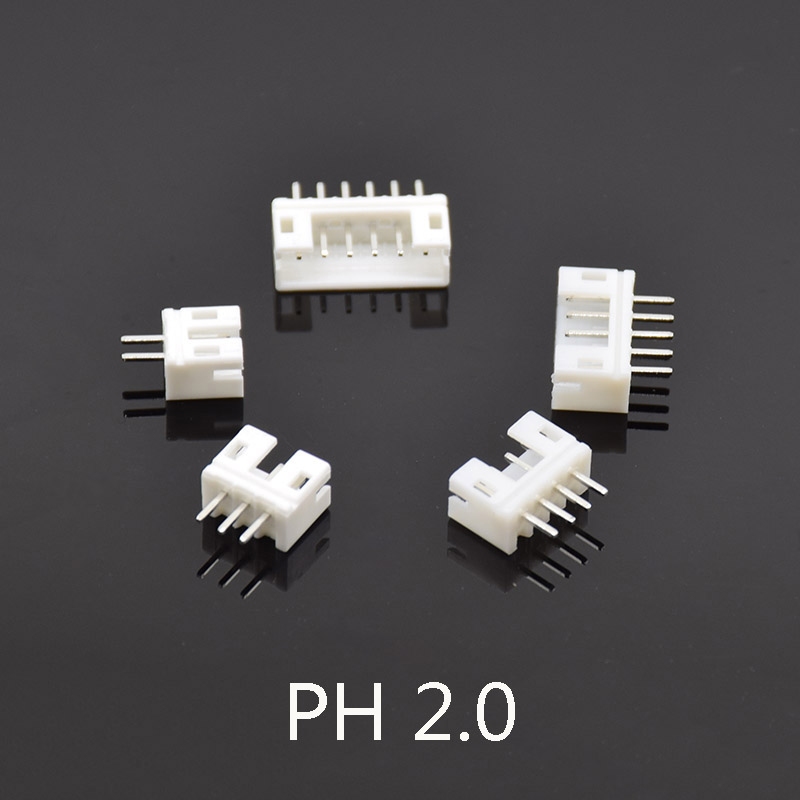 10Sets Mini Micro JST PH 2.0 Male Female Connector 2/3/4/5/6 Pin Plug With terminal Wires Cables Socket 300mm 26AWG length 30cm