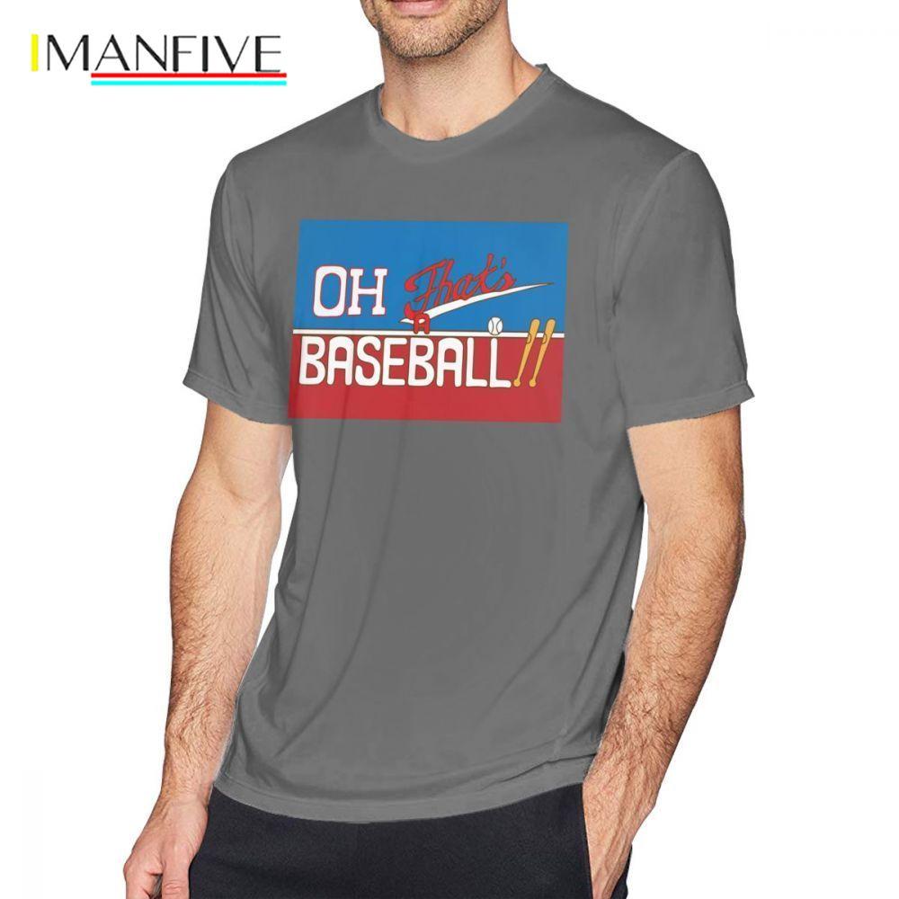 Jojo T Shirt Oh That S A Baseball JJBA Jojo S Bizarre Adventure T-Shirt Cute Fashion Tee Shirt Plus size Short Sleeves Tshirt