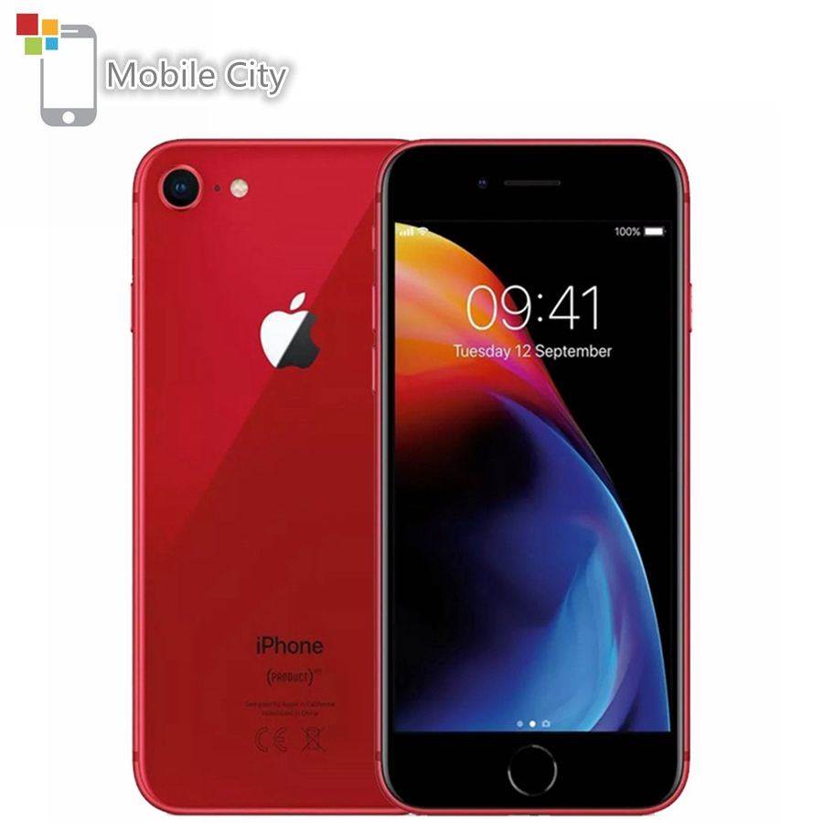 Смартфон Apple iPhone 8 4G LTE 4,7 12MP 326ppi TouchSreen Apple A11 Hexa-core 2 Гб ram 64 Гб/256 г ram iOS Touch ID мобильный телефон