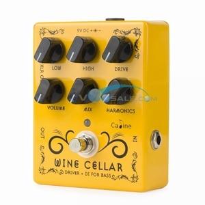 Image 5 - Caline CP 60 Driver + DI для бас гитары, педаль, аксессуары для гитары, мини педаль, запчасти для гитары, используются для гитары