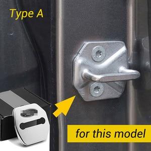 Image 2 - Housse de protection pour serrure de porte de voiture, pour Ford Kuga Focus Mustang Explorer Mondeo Edge Taurus F150 2008 2020