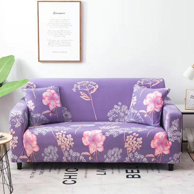 Фото пасторальные листья чехлы для диванов эластичные чехлы из спандекса