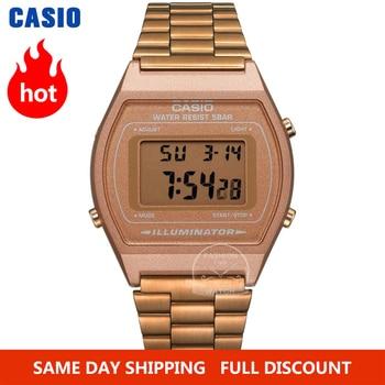 Casio watch Rose gold men set brand luxury LED digital Waterproof Quartz Sport military Watch relogio masculino - discount item  49% OFF Men's Watches