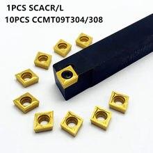 SCACR/L1212H09 SCACR/l1616:09 SCACR/L2020K09 SCACR/L2525M09 outil de tournage externe 90 °, barre d'alésage CNC