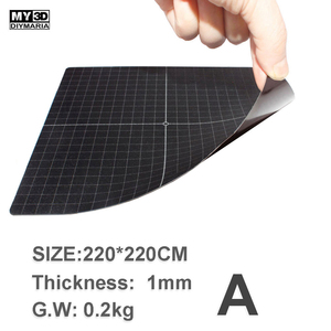 Image 5 - Upgrade Magnetic Steel Sheet Base Soft Surface Plate Post for 3D Printer Hot Bed Print Tape Heatbed Sticker Non PEI MY3D