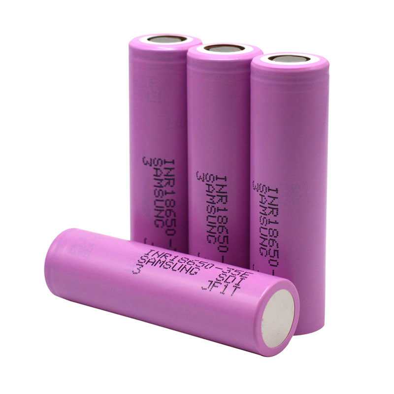 3.7V <font><b>INR18650</b></font> <font><b>35E</b></font> <font><b>18650</b></font> Battery 3500mAh <font><b>18650</b></font> Rechargeable Li-ion Battery for Laser Pointer Flashlight Torch Power Tools Cell image