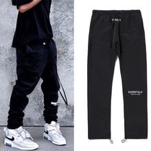 Брюки-карго мужские светоотражающие с карманами, уличная одежда в Корейском стиле, повседневные Джоггеры в стиле Харадзюку, штаны для актив...