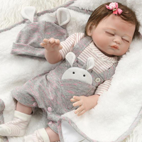 50CM premie bebe Reborn Dolls Realistic Girl boys girls newborn baby Doll soft full body silicone Boneca birthday gift
