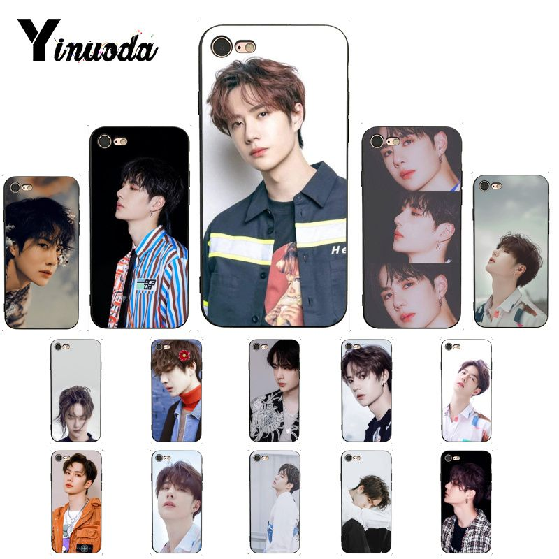 Yinuoda Yibo Luxury Unique Design <font><b>PhoneCase</b></font> for <font><b>iPhone</b></font> 6S 7 <font><b>7plus</b></font> 8 8Plus X Xs MAX 5 5S XR 11 Pro Max image