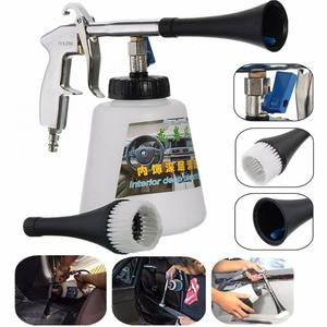 Car Washer Dry Cleaning Gun Dust Remover Automobiles Water Gun Deep Clean Washing Tornado Interior Exterior Cleaning Tool