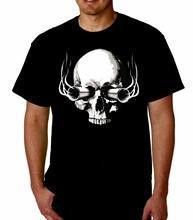 Camiseta legal engraçado do t das armas do crânio de hitman