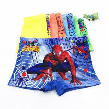 10pcs/Lot Boys Boxer Briefs Kids Underwear Baby Boy Underpants Cartoon Print Soft Children Panties 2-9 years Super Hero 2020 New - random color-4, 10T