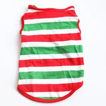Lovd-Lovf Home Pet Dog Clothes for Small T-shirts Puppy Sport Soccer Jersey Cat Striped Vest Outfit summer Coats