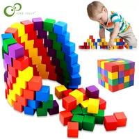 20/50 sztuk kolorowe drewniane kostki bloki kości handlu zagranicznego kwadratowy na narożnik pokładzie gra w kości dzieci kid wczesne zabawki edukacyjne ZXH