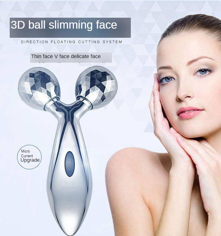 3D Thin Face Useful Product Roller V Facial Part Massage Instrument Beauty Instrument Lifting And Firming Men And Women Electric