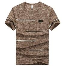 Plus Size 6XL 7XL 8XL M-9XL Tshirt Men T Shirt Summer Sports Running Top Tees Quick Dry Men's Fitness Tees Boys Casual Sportwear