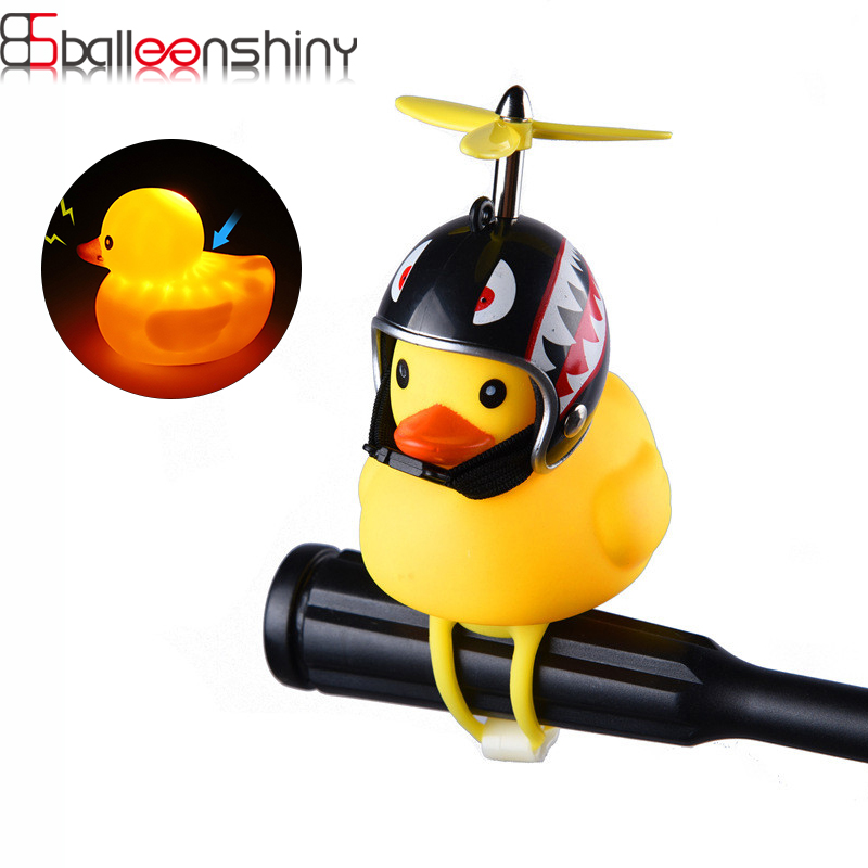 BalleenShiny Baby Toys Mini Yellow Rubber Ducks Rubber Ducky Flashing Light Toy Ducky Baby Educational Toy Children Gift