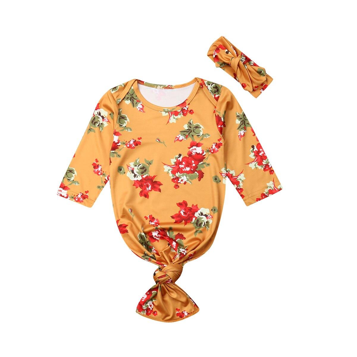 îTop SaleBlanket Swaddle-Wrap Sleeping-Bags Long-Sleeve Newborn Infant Baby Cotton 2pcs-Sets Headband
