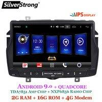 SilverStrong Android9.0 Car GPS for LADA VESTA 8inch 9inch IPS Magneto GPS Navigator Radio Screen for Lada Navitel Map