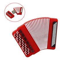 Instrumento Musical Bayan acordeón Pendrive 16 128 256 gb unidad flash usb 32GB 256GB 64GB usb flash Pen drive regalo personalizado