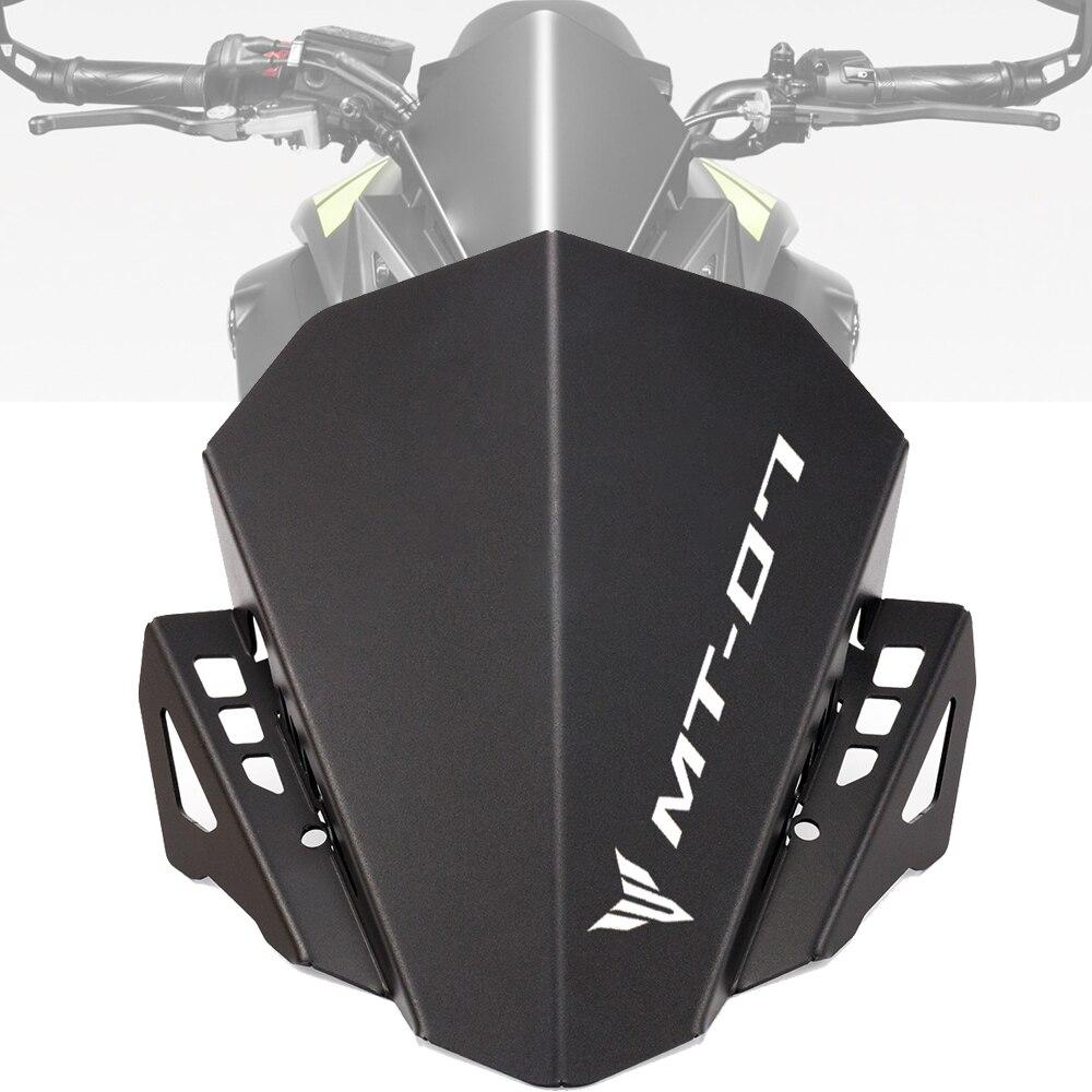 Motorcycle Windscreen Windshield MT-07 FZ-07 Accessories For Yamaha MT07 FZ07 2013-2015 2016 2017 2018 2019 2020 Wind Deflectors
