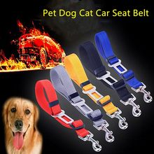2020 New Vehicle Car Seatbelt Lead Clip Pet Cat Dog Safety Pet Supplies Pet Dog Collar Pet Seatbelt Retractable Dog Leash(China)