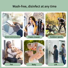 HEMEIEL Hand Sanitizer Gel Antibacterial Disinfection 75% alcohol Sterilization No Wash Portable quick-drying