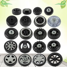 1PC Luggage  Plastic Swivel Wheels Rotation Suitcase Replacement Casters