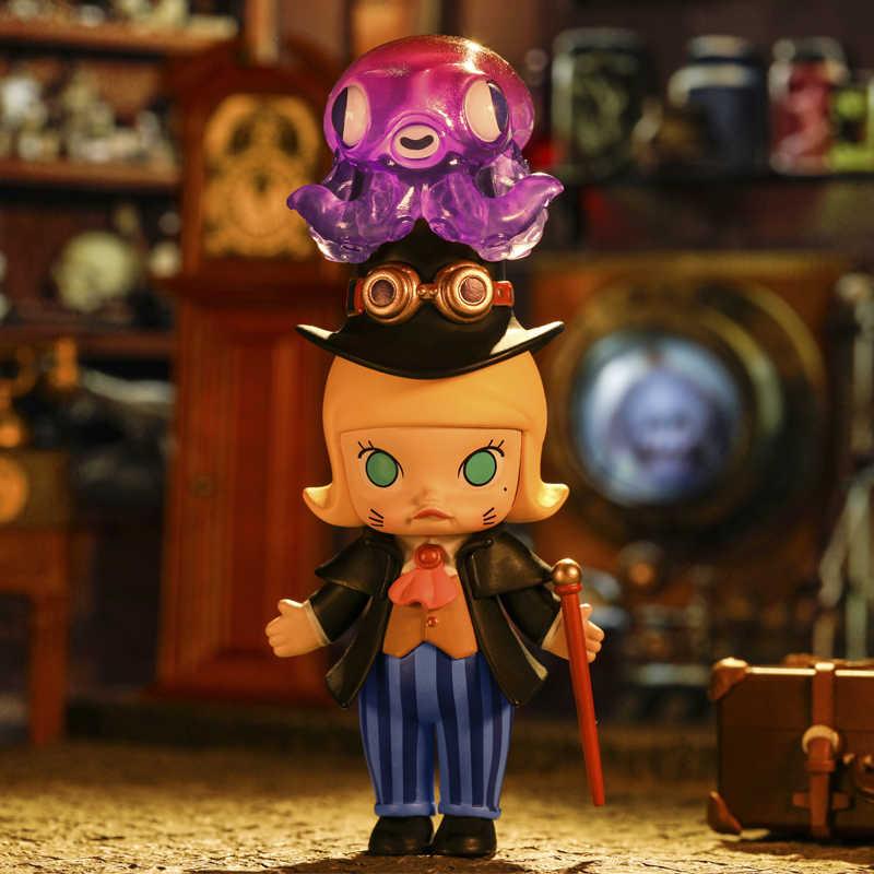 פופ מארט מולי קיטור פאנק בעלי החיים צעצועי דמות עיוור תיבת יום הולדת מתנה חדש שהגיע משלוח חינם