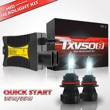 TXVSO8 العالمي 9004 زينون عدة 12V HB1 سيارة المصابيح الأمامية لمبات 55W HID مصابيح 3000K 4300K 5000K 6000K 8000K 10000K 12000K أضواء