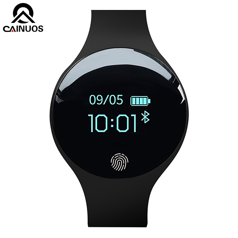 CAINUOS 2019 New Men Sport Fitness Watches Smart Bracelet Activity Pedometer Waterproof Wearable Device Women Digital Watch