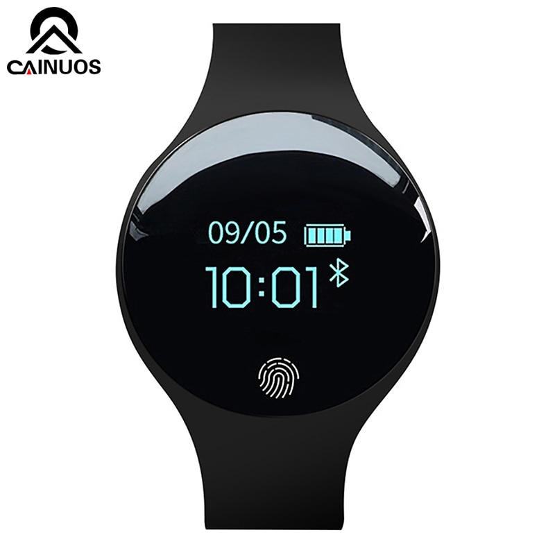 CAINUOS 2019 New Men Sport Fitness Watches Smart Bracelet Activity Pedometer Waterproof Wearable Device Women Digital Watch