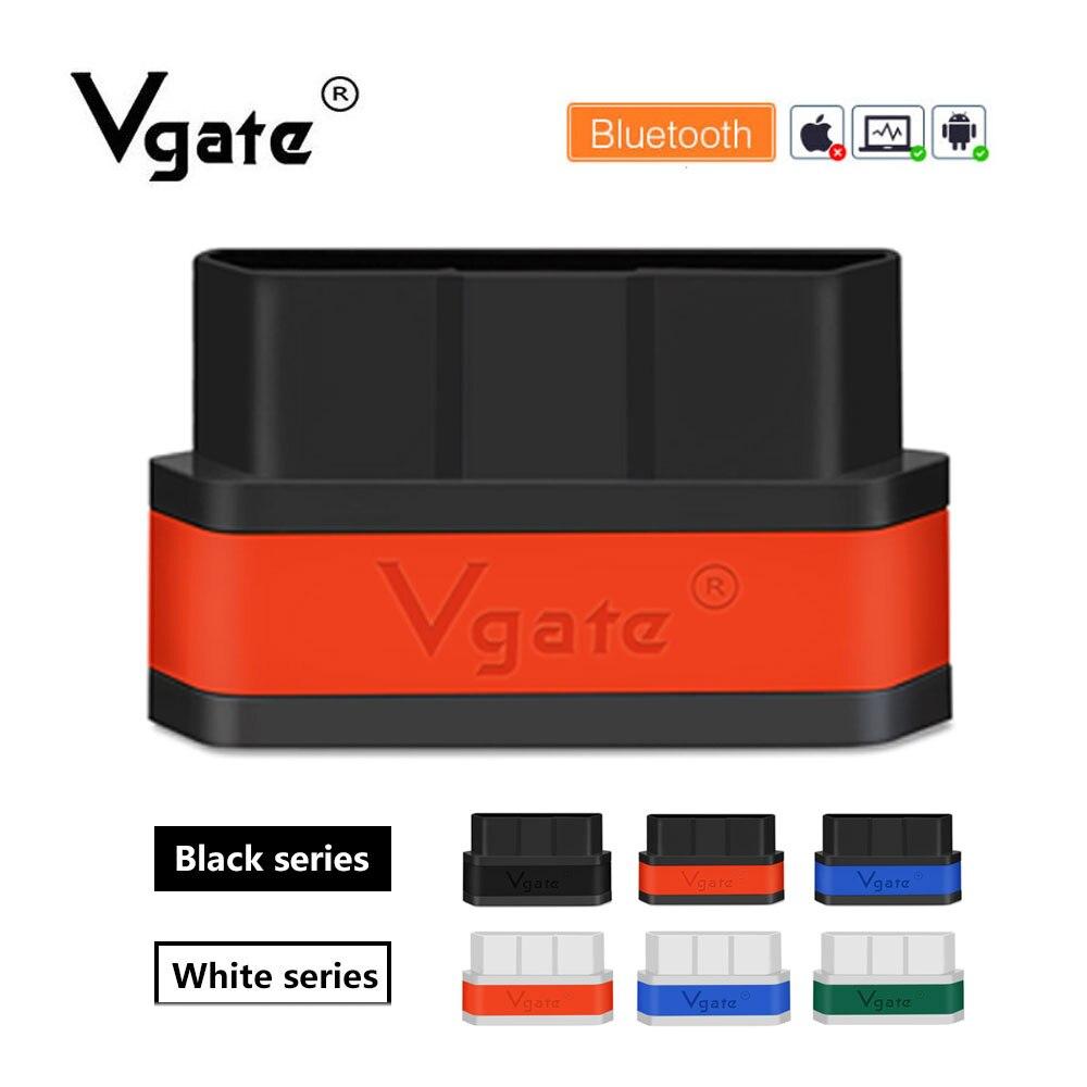 Vgate icar2 OBD2 Scanner ELM327 bluetooth auto diagnose OBDII code reader scan tool profissional PK odb2 elm 327 v1.5