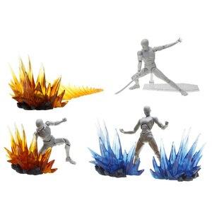 Image 5 - Energia Aura efekt dekoracja dla Gundam figurki postaci akcesoria do modeli żółty